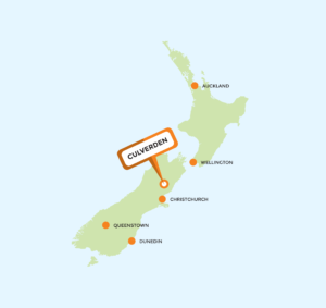 Where are we? - Culverden, New Zealand